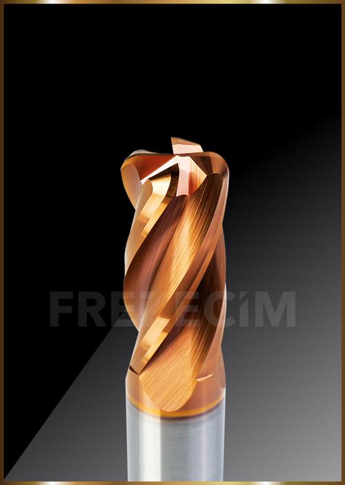 Uzun Boy Köşe Radüslü Freze